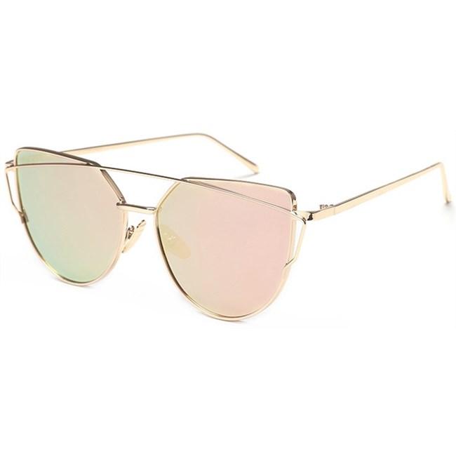 """Cat eye zonnebril """"Bow"""" - Roze"""