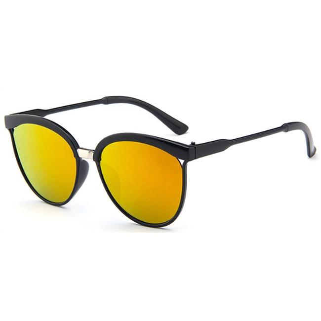 """Cat-eye zonnebril """"Brow"""" - Oranje"""