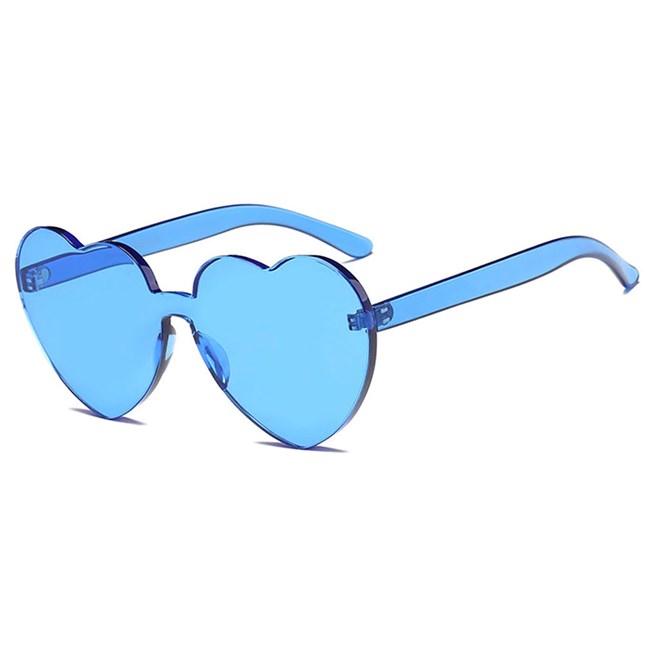 Candy zonnebril Hartjes - Blauw