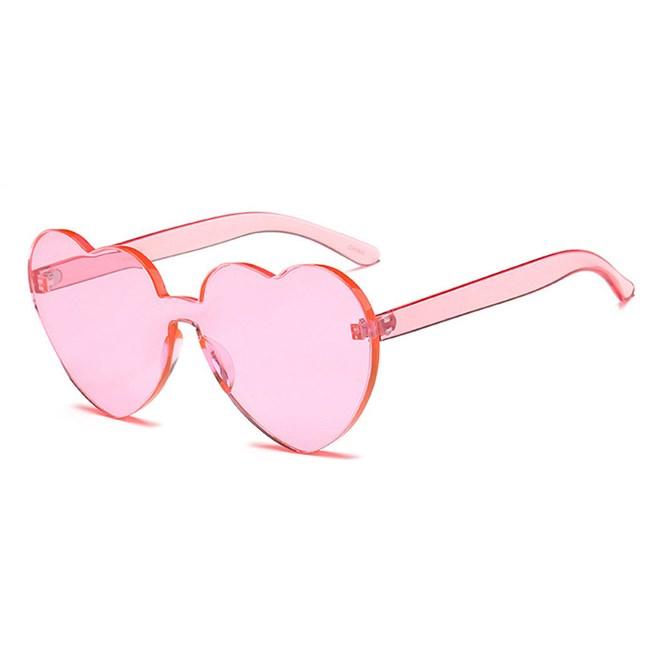 Candy zonnebril Hartjes - Roze