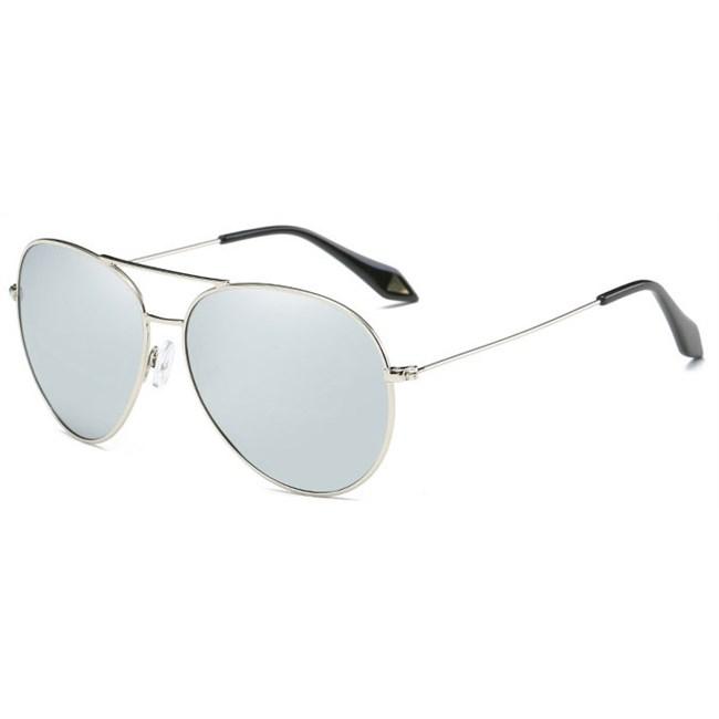 Pilotenbril spiegelglazen - Zilver