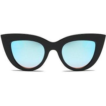 "Cat eye zonnebril ""Pur"" - Blauw"