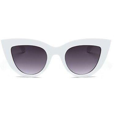 "Cat eye zonnebril ""Pur"" - Wit"