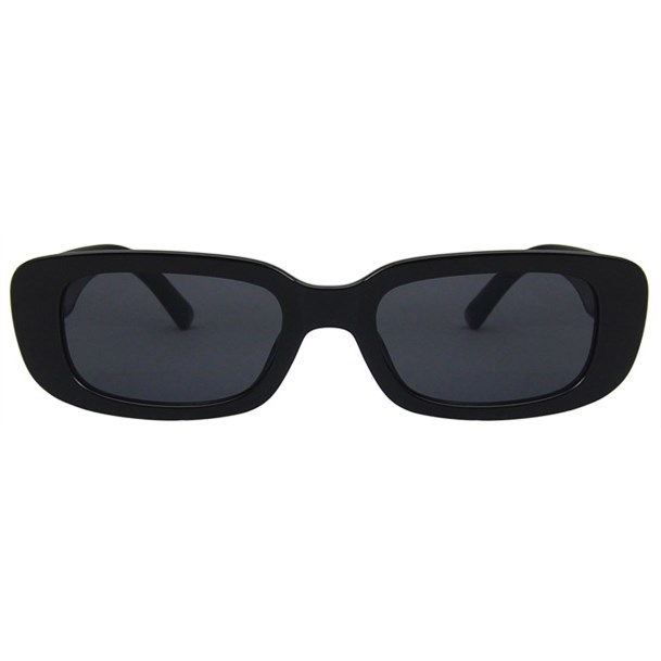 Rechthoek zonnebril - Zwart