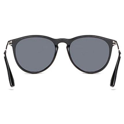 Classic Erika vintage zonnebril - Zwart Gepolariseerd
