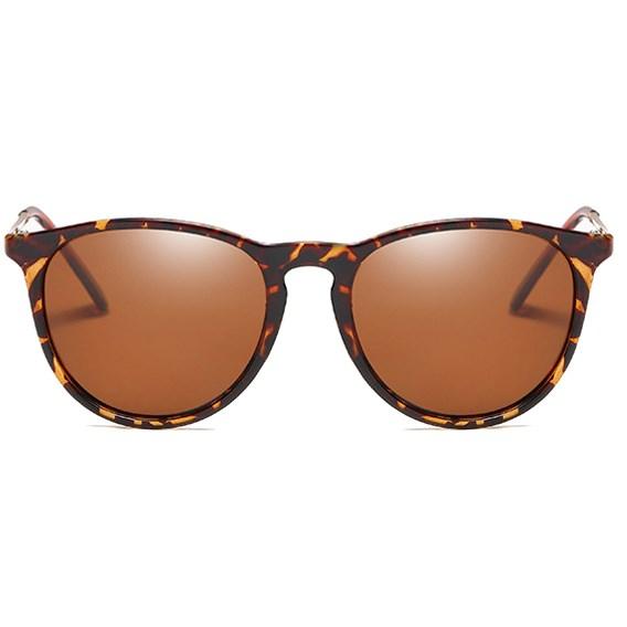 Classic Erika vintage zonnebril - Leopard Gepolariseerd