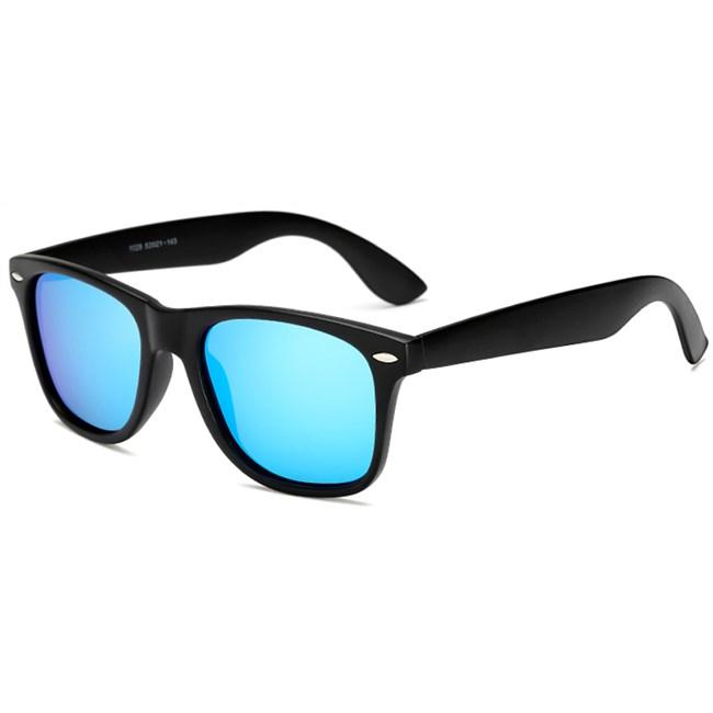 Wayfarer zonnebril spiegelglazen - IJsblauw Gepolariseerd