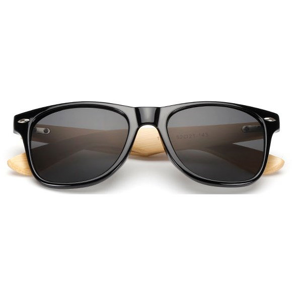 "Wayfarer zonnebril ""Woody"" - Zwart"