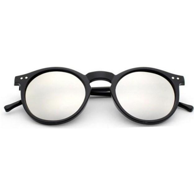 """Ronde zonnebril """"Ben"""" Retro - Zilver"""
