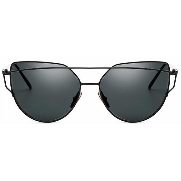 """Cat eye zonnebril """"Bow"""" - Zwart"""