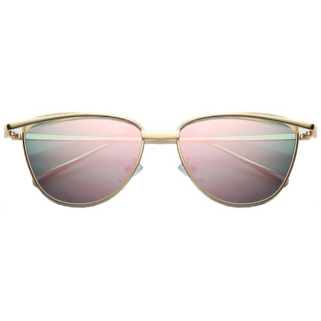 """Cat eye zonnebril """"Brooklyn"""" - Roze"""