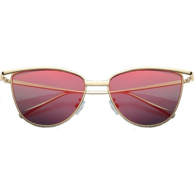 "Cat eye zonnebril ""Brooklyn"" - Rood"