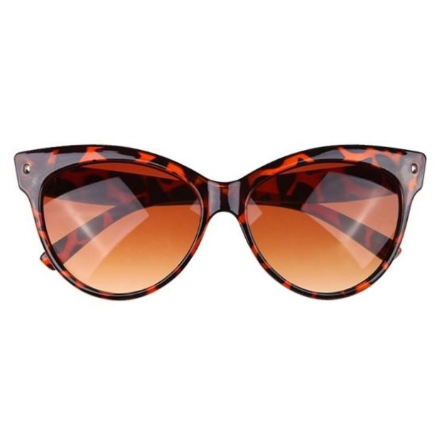 Gadient cat-eye zonnebril - Leopard
