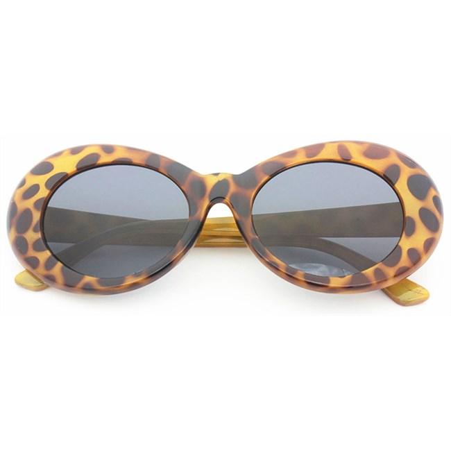 Clout zonnebril - Leopard