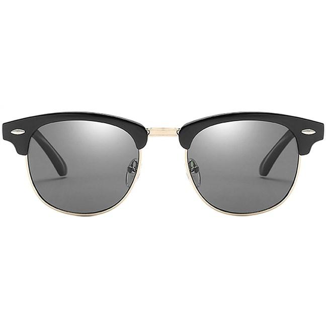 Clubmaster zonnebril - Zwart