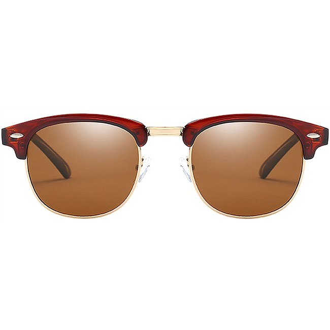 Clubmaster zonnebril - Bruin