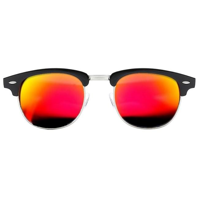 Clubmaster zonnebril spiegelglazen - Oranje