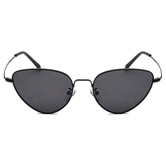 """Cat eye zonnebril """"Edna"""" - Zwart"""