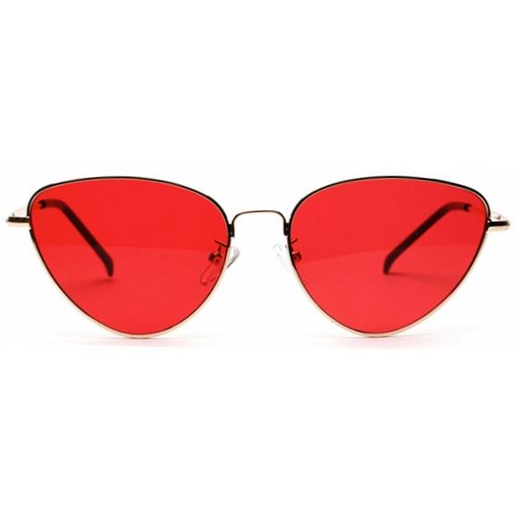 """Cat eye zonnebril """"Edna"""" - Rood"""