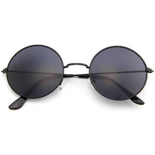 Hippie zonnebril - Zwart