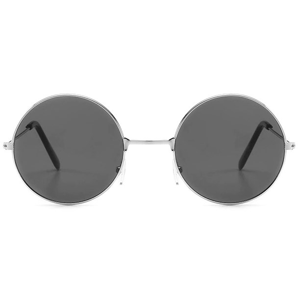 Hippie zonnebril - Grijs