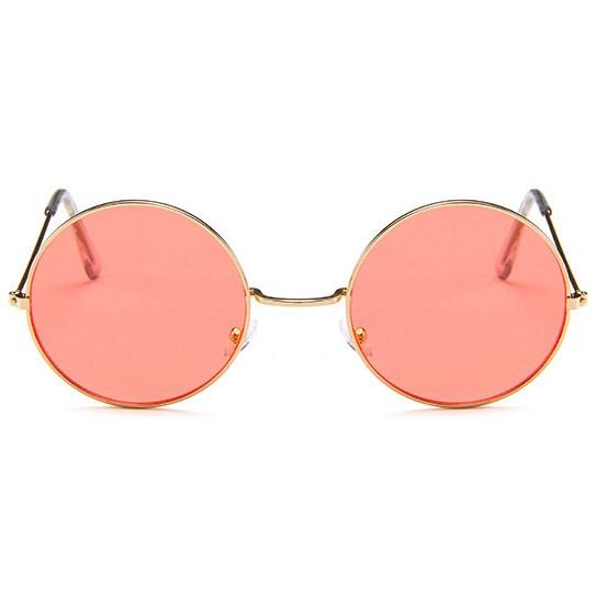 Hippie zonnebril - Rood