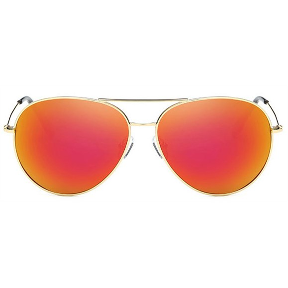 Pilotenbril spiegelglazen - Oranje