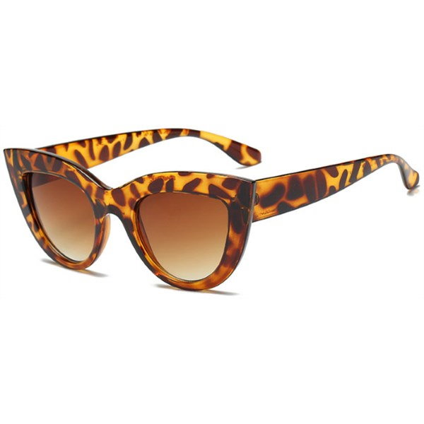 "Cat eye zonnebril ""Pur"" - Leopard"