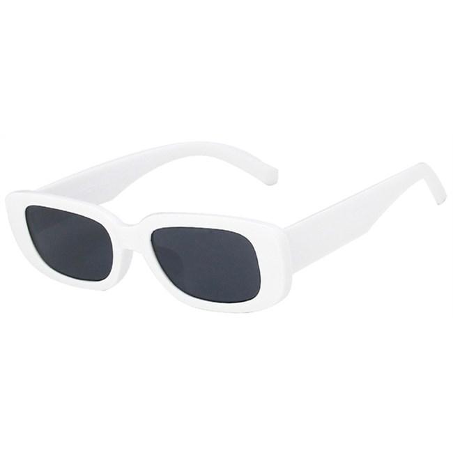 Rechthoek zonnebril - Wit