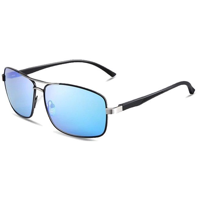 """Retro zonnebril """"Reddington"""" - Blauw Gepolariseerd"""