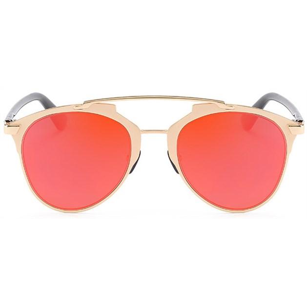 Reflected zonnebril - Oranje/Rood