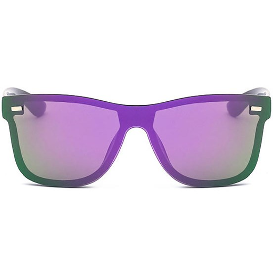 Randloze zonnebril - Paars