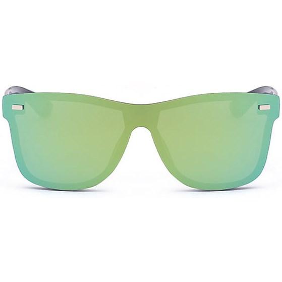 Randloze zonnebril - Geel/Groen
