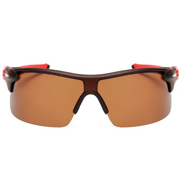 Sport zonnebril - Bruin gepolariseerd