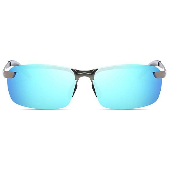 Semi-randloze zonnebril - IJsblauw Gepolariseerd