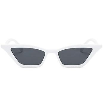 Trapezium zonnebril - Wit