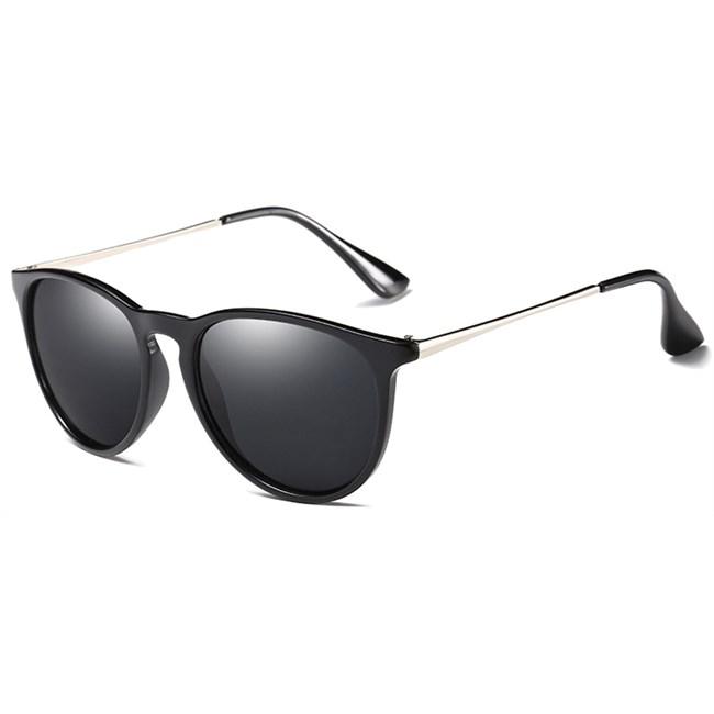 Classy vintage zonnebril - Zwart Gepolariseerd