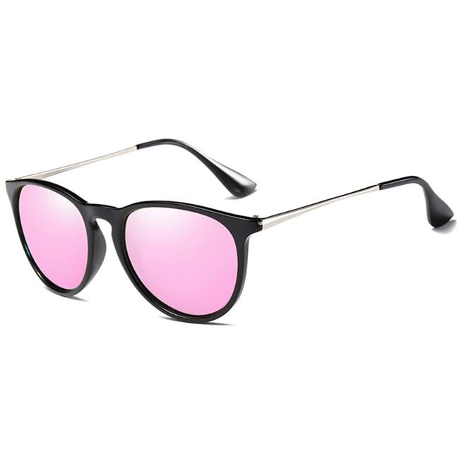 Classy vintage zonnebril - Roze Gepolariseerd