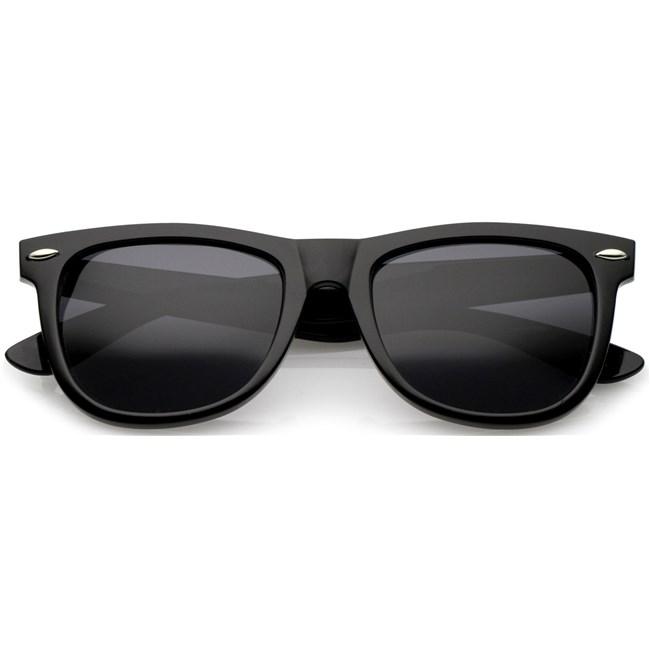 Wayfarer zonnebril - Zwart Gepolariseerd