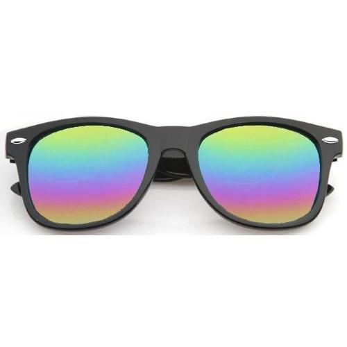 Wayfarer zonnebril spiegelglazen - Regenboog