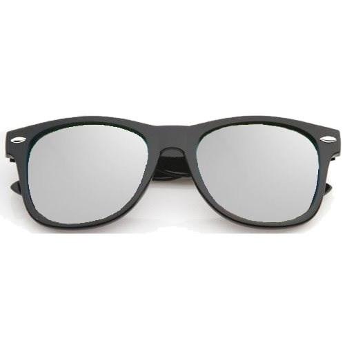 Wayfarer zonnebril spiegelglazen - Zilver