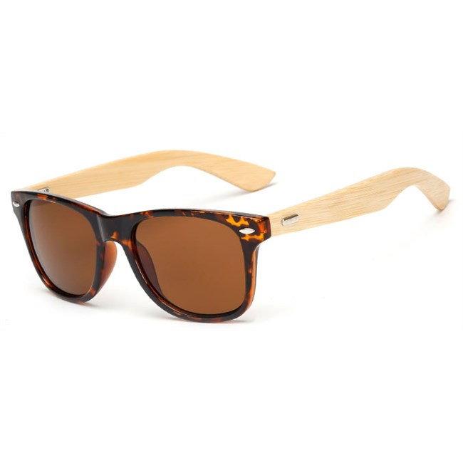 """Wayfarer zonnebril """"Woody"""" - Leopard"""