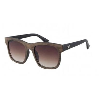 Houtlook zonnebril - Bruin