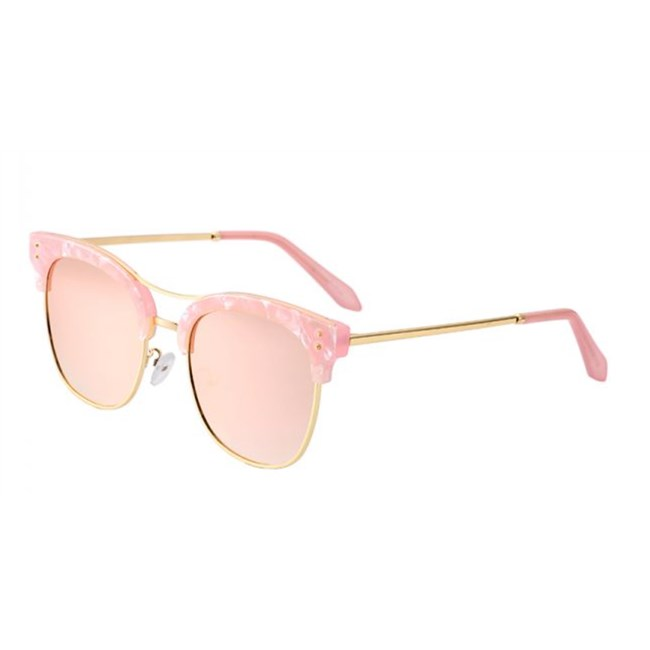 Miss Butterfly zonnebril - spiegelglazen Roze