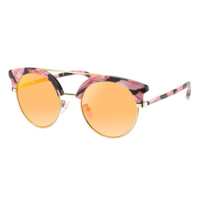 Trendy Brows spiegelglazen - Oranje